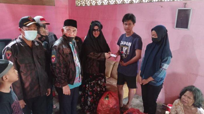 Sambut Ramadan, KBPP Polri Babel Galang Bantuan untuk Dua Kakak Beradik