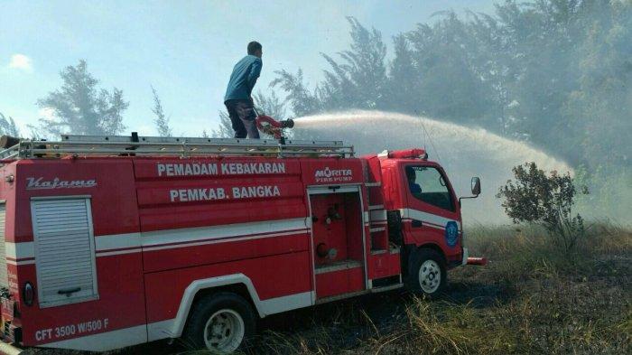 Soal Potensi Kebakaran Lahan di Kelapa, Ini Kata Camat