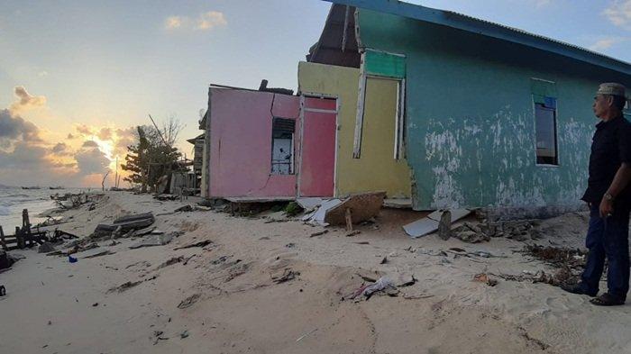Desa Pulau Gersik Belitung Terancam Abrasi, 3 Tahun Silam Sembilan Rumah Hanyut Diterjang Gelombang