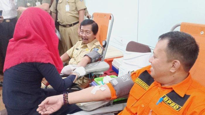 PMI Gelar Aksi Donor Darah, Wagub Abdul Fatah: Momentum Bersedekah Darah