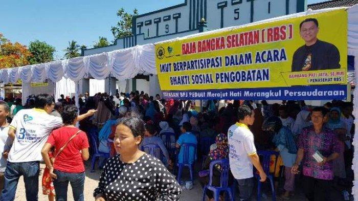 Masyarakat Toboali Senang Ada Baksos Yayasan BPJ Peduli