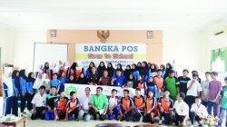 Bangka Pos Goes To School dan BEI Hadir di SMKN 3 Pangkalpinang