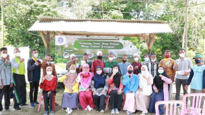 Dosen UBB Berbagi Ilmu Tanam Porang ke Petani