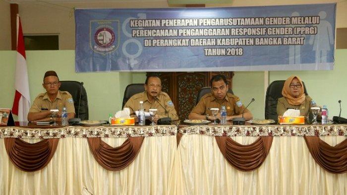 Bupati Bangka Barat Ingatkan Kebijakan Pembangunan Daerah Harus Berkeadilan Gender