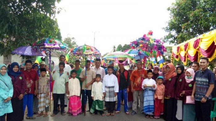 Lestarikan Budaya, Desa Ranggi Asam Gelar Sunatan Massal