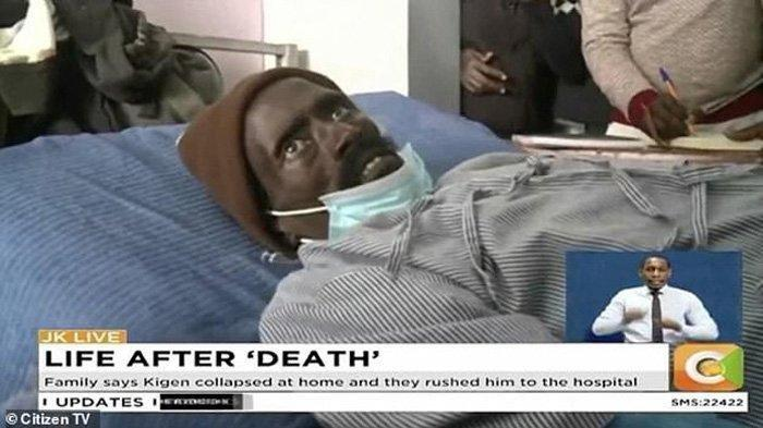 Peter Kigen- pria di Kenya yang hidup lagi setelah dinyatakan meninggal dunia- Kejadian Mayat Hidup Lagi Bikin Geger Satu Negara, Keluarga Kemudian Lakukan Ini ke Rumah Sakit