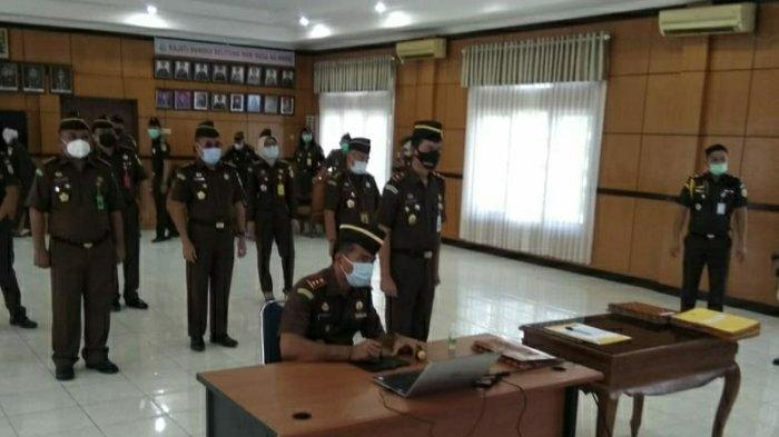 Pertahankan Predikat WBK WBBM, Kejati Bangka Belitung Teken Komitmen Bersama Zona Integritas