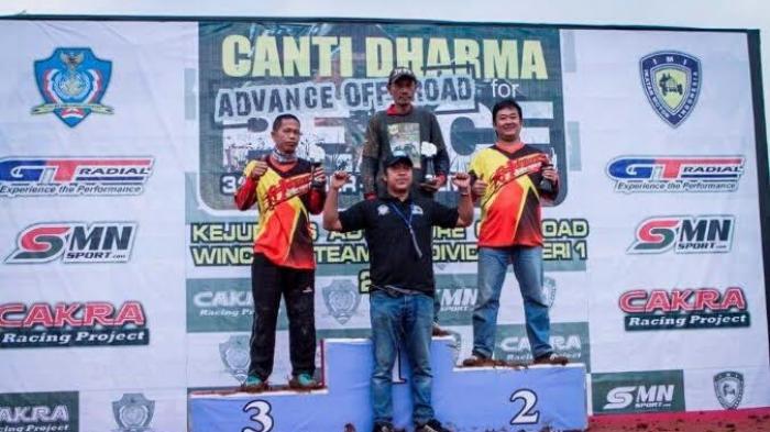 Offroader Bangka Raih Juara 3 Kejurnas Offroad Panglima TNI