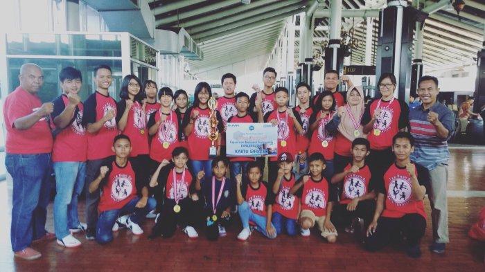 Tim UTI Pro Babel Boyong 9 Emas di Kejurnas Danlanal Lampung Cup