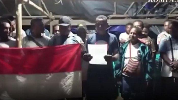 Detik-detik KKB Papua dari NRFPB Menyatakan Tobat Memberontoak dan Kembali ke NKRI
