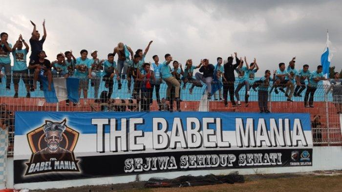 Pendukung Marah Babel United Pindah ke Banyuasin, Rencana Akan Gelar Aksi