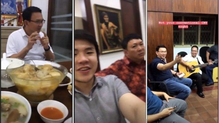 Ahok BTP dan Putra Sulung Rayakan Imlek 2019 Bareng Ibunda, Ada Menu Masakan Ini