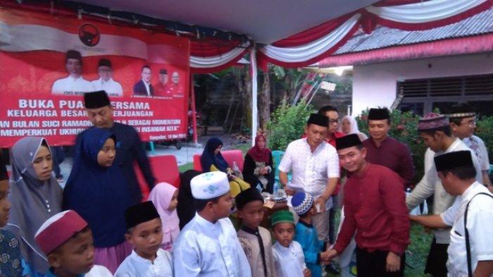 Rudianto Tjen Bersilahturahmi dengan Jurnalis dan Anggota Polres di Resto Kembang Katis