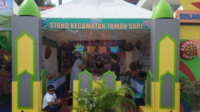 Kecamatan Taman Sari ikut memeriahkan hari ulang tahun (HUT) ke-262 Pangkalpinang