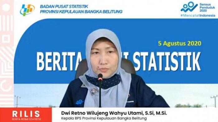 Perekomian Bangka Belitung Pada Triwulan II Tahun 2020 Capai 17,84 Trilyun