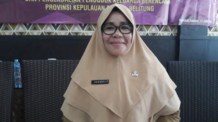 Susanti Terapkan Pola Pelayanan Bank di DP3ACSKB Bangka Belitung