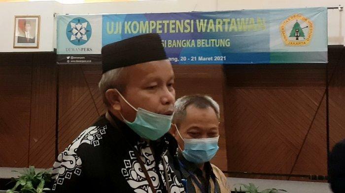 Pemprov Bangka Belitung Bakal Berlakukan Aturan Wajib Sertifikasi Kompetensi Jurnalis