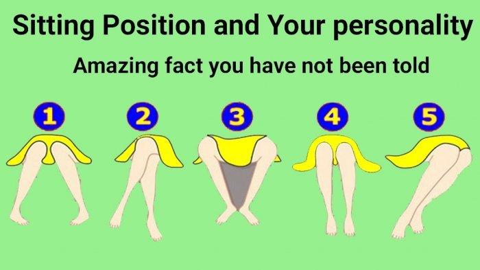 Kepribadianmu Ketahuan dari 5 Posisi Duduk Ini, Menyenangkan atau Bikin Susah Banyak Orang?