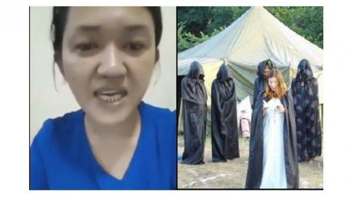 Wanita Kerajaan Ubur-Ubur Ini Ngaku keturunan Nyai Roro Kidul Sebut Jokowi Restui Ritualnya