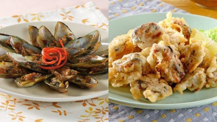 ANEKA Resep Masakan Kerang Hijau, Goreng dan Bakar Bumbu
