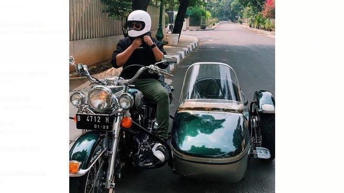 Begini Bentuk Motor Antik Peninggalan Soeharto yang Dikendarai Cucunya Anak dari Tommy Soeharto