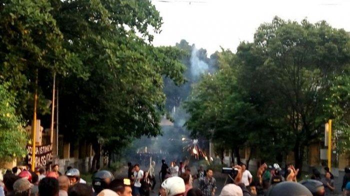 Demo Hari Buruh di Yogyakarta Ricuh, Polisi Amankan 69 Orang