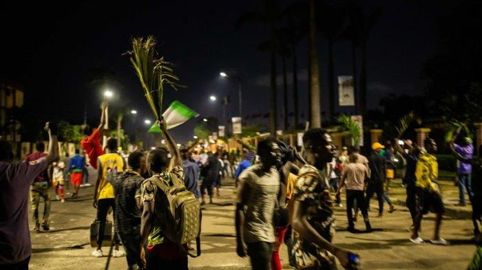 Kerusuhan di Nigeria, Korban Berjatuhan, Video Aparat Keamanan Letuskan Peluru Beredar Luar