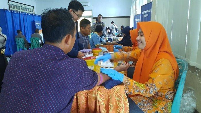 Antisipasi Personel yang Sakit, Polres Bangka Lakukan Pengecekan Kesehatan Enam Bulan Sekali