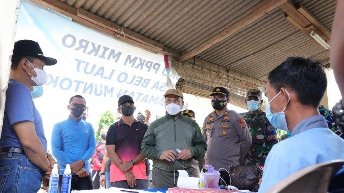 PPKM Mikro Mulai Berlaku di Desa Belo Laut, Gubernur Babel Pantau Pelaksanaannya