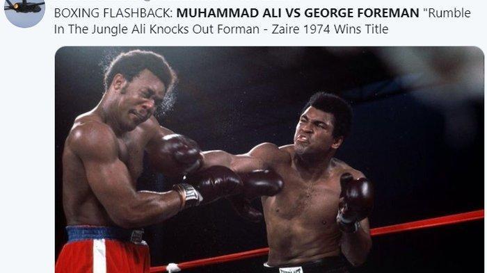 Ternyata Ini Strategi Jitu Muhammad Ali Tumbangkan Raja KO Masa Lalu
