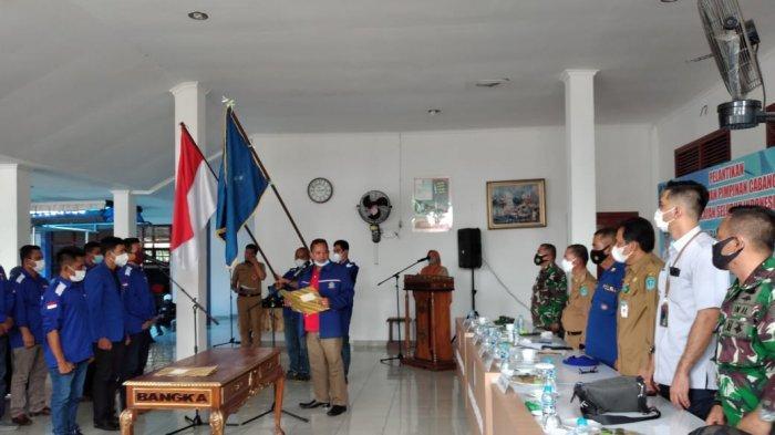 Pengurus HNSI Bangka yang Baru Dilantik Diminta Bantu Perjuangkan Kesejahteraan Nelayan
