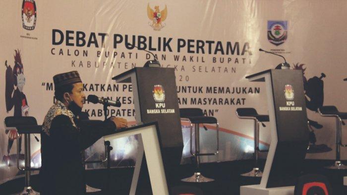 Debat Publik Perdana Cabup Cawabup Pilkada  Bangka Selatan 2020 Berlangsung Lancar dan Sukses - ketua-kpu-kabupaten-bangka-selatan-amri-r-s-p.jpg
