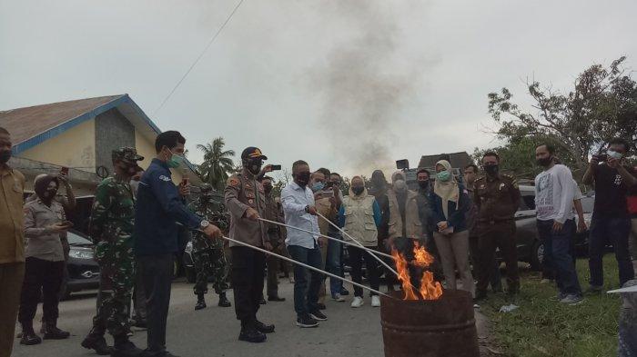 Jelang Pilkada, KPU Bangka Barat Musnahkan 918 Surat Suara Rusak