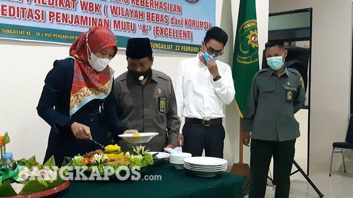 Pengadilan Negeri Sungailiat Gelar Syukuran HUT ke 38, Raih WBK dan Akreditasi A