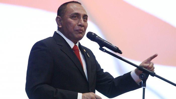 KLB Partai Demokrat, Polri Tegaskan Tak Keluarkan Izin, Gubernur Sumut Edy Rahmayadi Bereaksi Begini