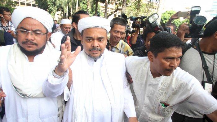 Dilaporkan Rachmawati Soekarnoputri, Polisi Periksa Habib Rizieq Kamis