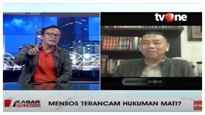 Ketua Umum Jokowi Mania ini Dukung Hukum Mati Juliari, Kapitra: Suap Itu Tak Rugikan Keuangan Negara