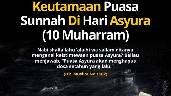 Jadwal Puasa Asyura dan Puasa Tasu'a Pada Bulan Muharram 1441 H, Bulan Bersejarah Rasulullah Hijrah