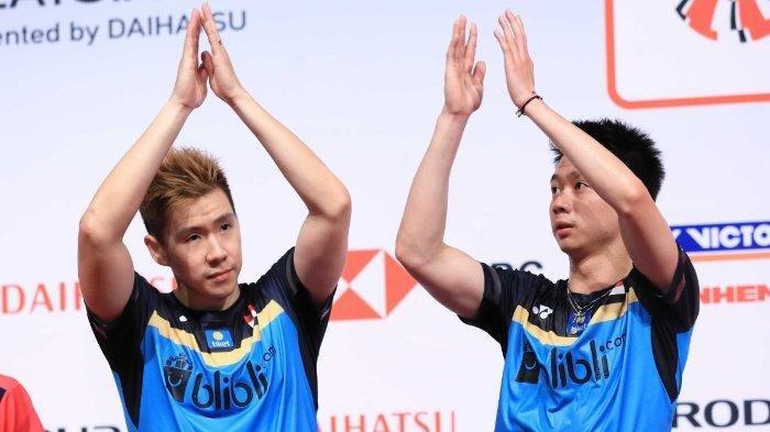 Kalah Dari Ganda Putra Taiwan, Marcus Gideon/Kevin Sanjaya Tetap Masuk Perempat Final, Ini Alasannya