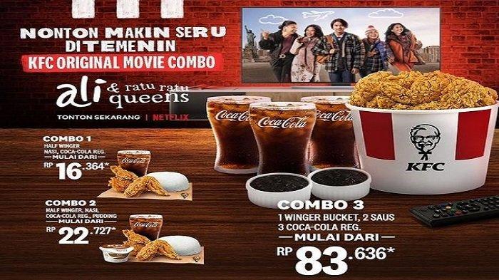 PROMO! Menu KFC yang Menggugah Selera, Mulai dari 16 Ribu Nikmati Makan Bersama Keluarga Anda