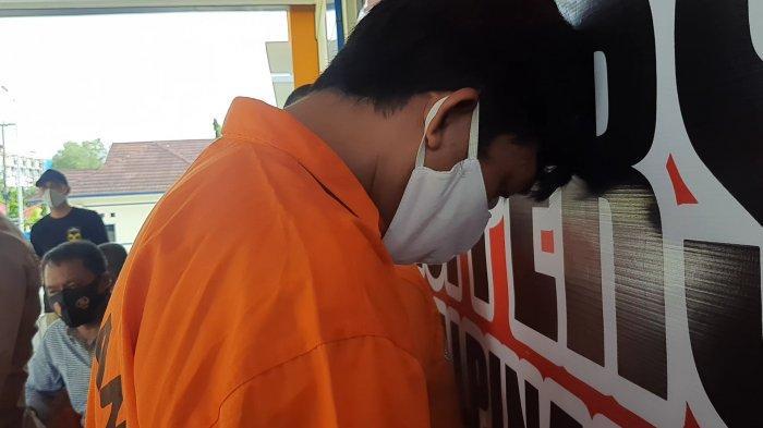 Honorer Dua Bulan Edar Sabu, AZ Dibekuk Satresnarkoba Polres Pangkalpinang