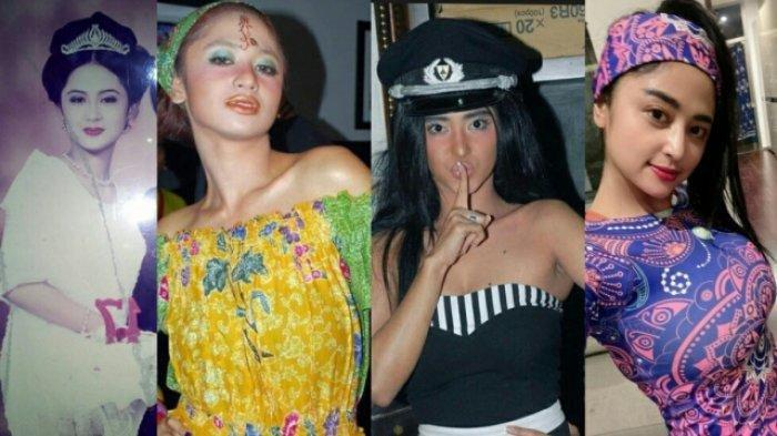 FOTO-foto Jadul Artis Tanah Air, Mulai dari Dewi Perssik hingga Via Vallen dan Nella Kharisma