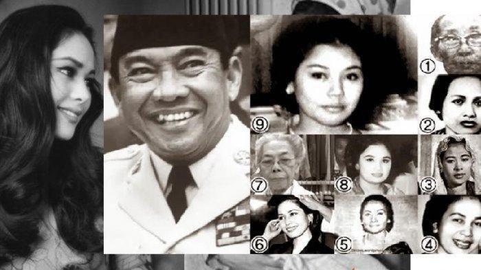 Sederet Kisah Cinta Soekarno dan 9 Istrinya, Ada yang Sangat Dicinta & Ada yang Tak Pernah Disentuh