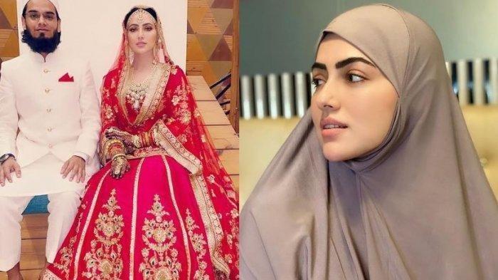 Aktris Cantik Bollywood Ini Tinggalkan Popularitas, Sana Khan Hijrah & Kini Dinikahi Ulama Terkenal