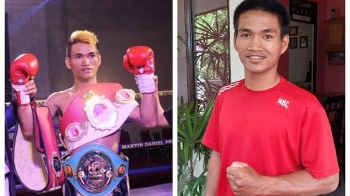 Mantan Juara Tinju Kelas WBC Asal Manado Jadi Kuli Bangunan Dapat Gaji Sehari Rp 50 Ribu