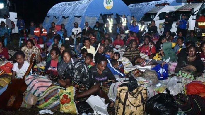 Makin Mengila, KKB Papua Tembak Dua Mobil Patroli Satgas Amole, Satu Anggota Brimob Terluka
