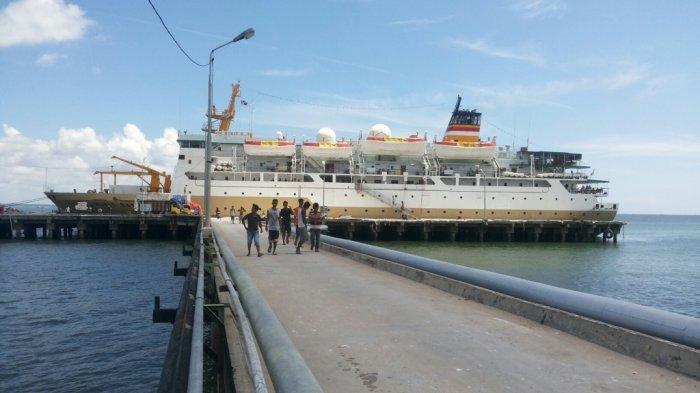 Penumpang Kapal dari Pelabuhan Tanjung Gudang Cenderung Menurun