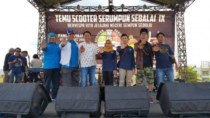Bambang Patijaya: Temu Komunitas Scooter Serumpun Sebalai IX Bervespa Jelajahi Nusantara 'Mantul'