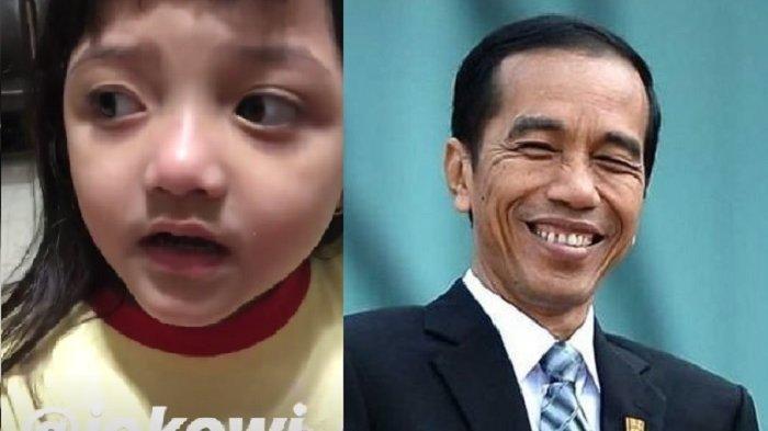 Polos Banget, Anak Anang-Ashanty, Arsy Mendadak Ungkap Kekecewaan pada Jokowi Karena Hal Ini