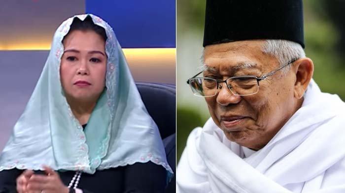 Soal Ancaman yang Dilontarkan Mahfud MD, Putri Gus Dur Ungkap Pendapatnya pada Sosok Ma'ruf Amin